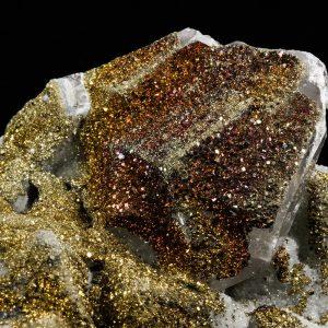 Chalcopyrite (Copper Iron Sulfide)