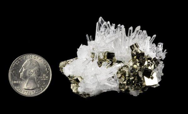 Quartz with Pyrite