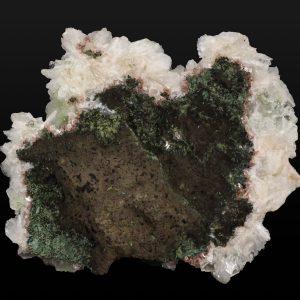 Apophyllite on Stilbite