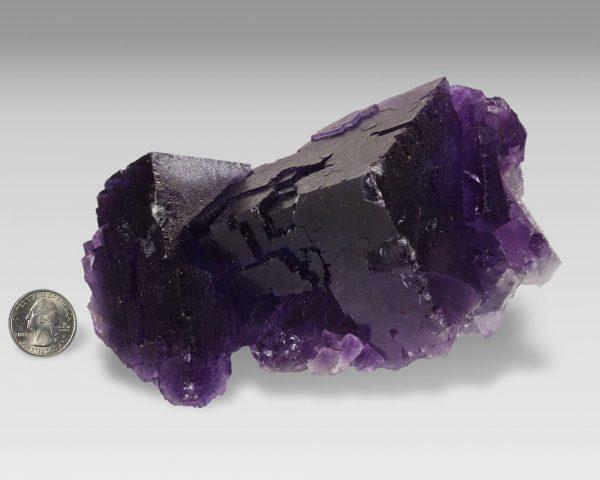 Fluorite, Purple