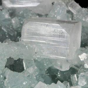 Prehnite with Apophyllite