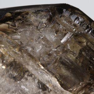 Jacaré Smoky Quartz with Clay inclusions