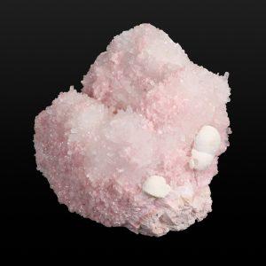 Rhodochrosite with Quartz, Calcite